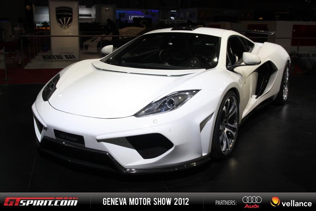 Geneva 2012 FAB Design McLaren MP4-12C Terso 001