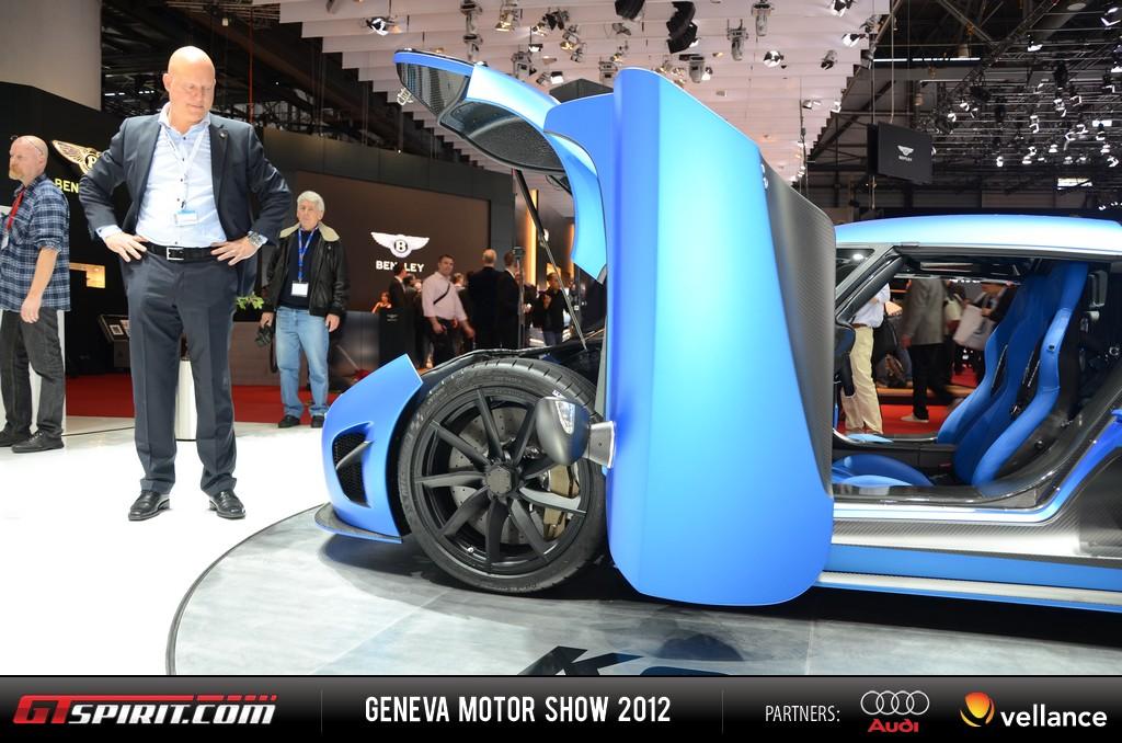 Geneva 2012 Koenigsegg 2013 Agera R Second Generation 001