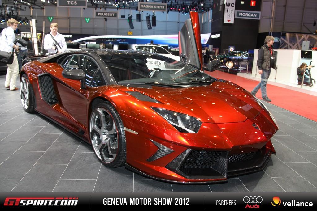 Geneva 2012 Lamborghini Aventador LP 700-4 001