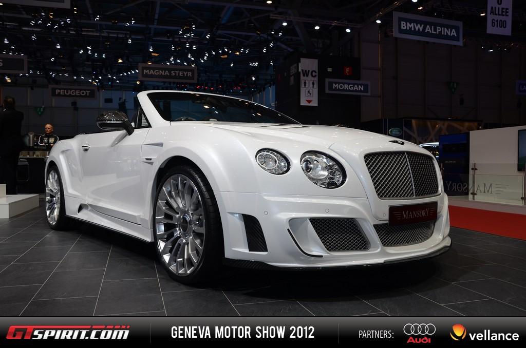 Geneva 2012 Mansory Bentley Convertible 001