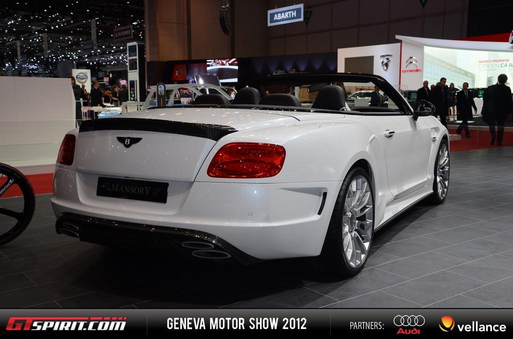 Geneva 2012 Mansory Bentley Convertible 008