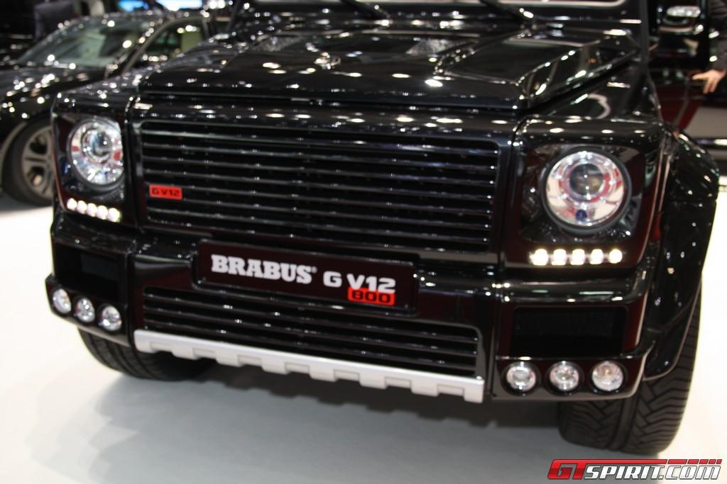 Geneva 2011 Brabus 800 Widestar