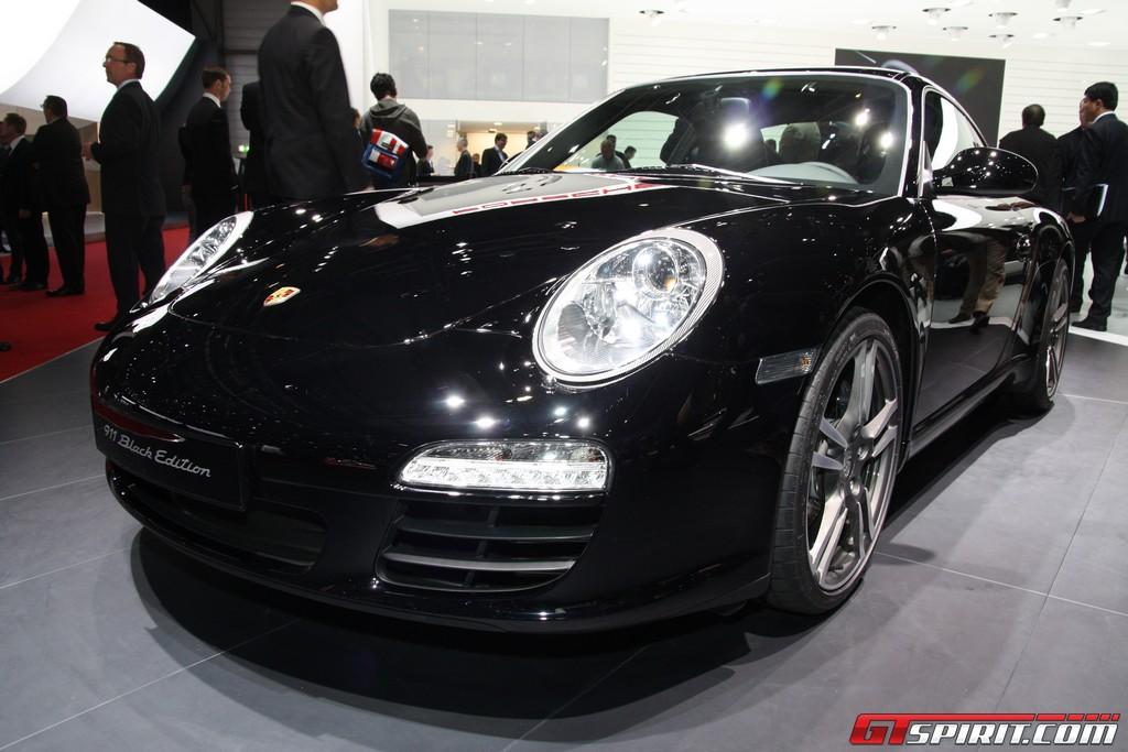 Geneva 2011 Porsche 997 Carrera Black Edition Gtspirit