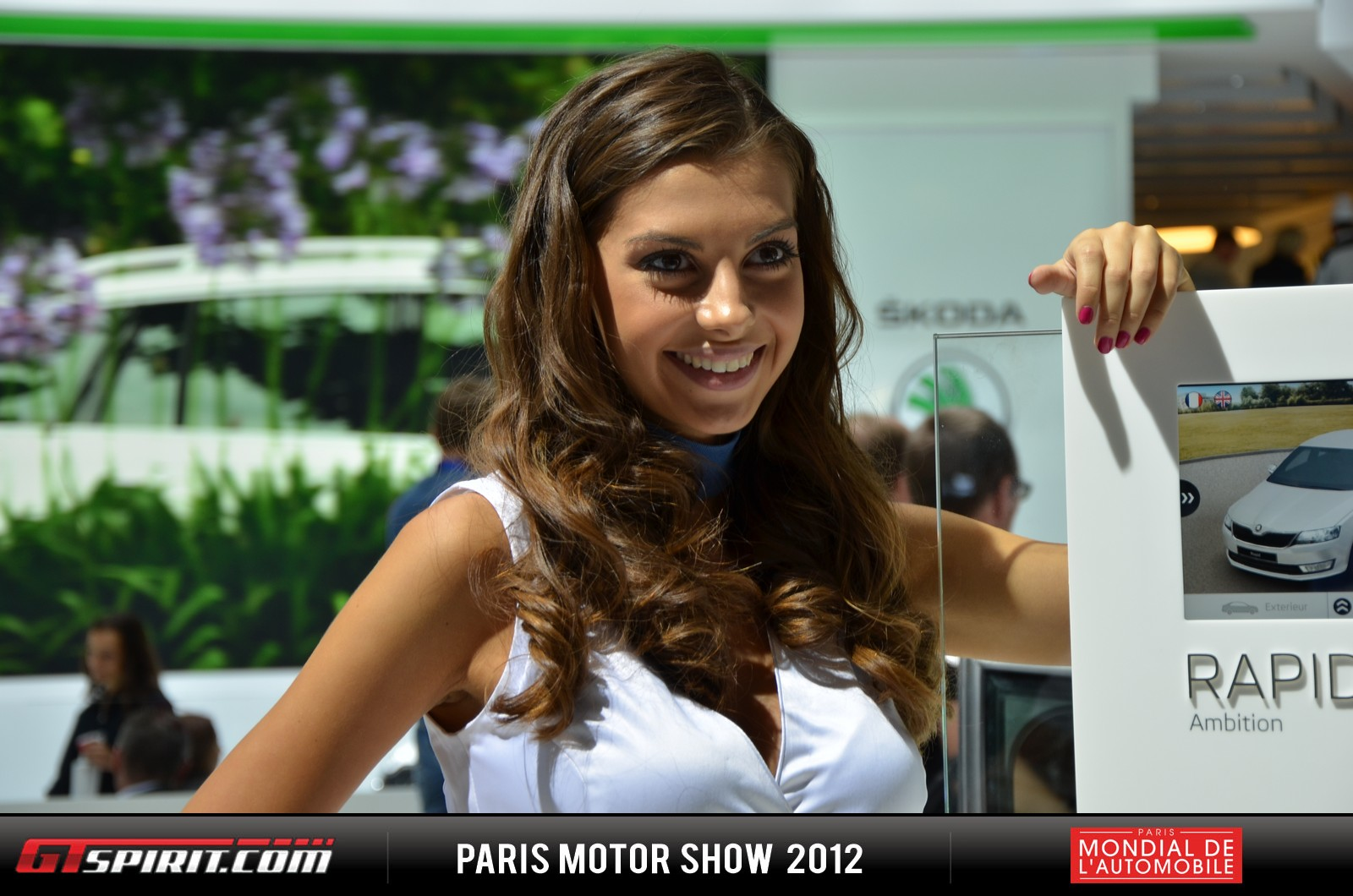 Girls at the Paris Motor Show 2012 Part 2 Photo 34