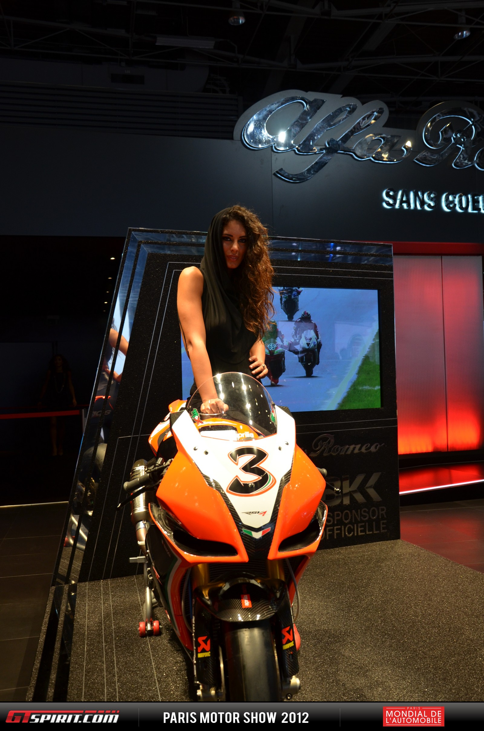 Girls at the Paris Motor Show 2012 Part 3 Photo 3