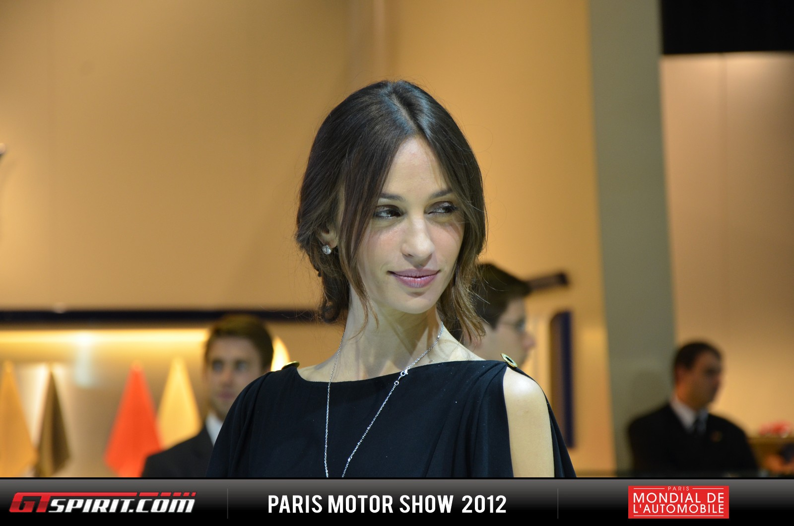 Girls at the Paris Motor Show 2012 Part 3 Photo 25