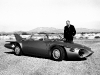 Harley Earl with1956 Firebird II