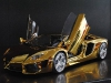gold-lamborghini-aventador-1
