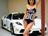 GoldRush Girl + Ferrari Scuderia