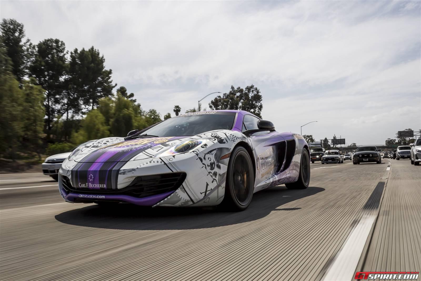 goldRush Rally 7: Day 0 Reception Drive to Beverly Hills - GTspirit