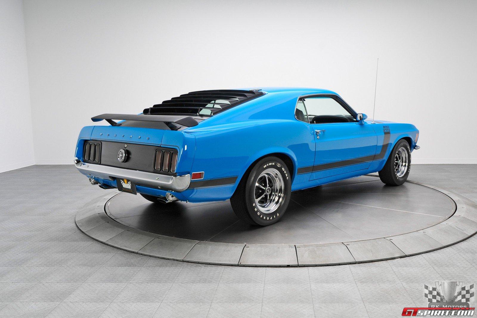 for sale 1970 ford mustang 302 boss in grabber blue. Black Bedroom Furniture Sets. Home Design Ideas