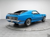 Grabber Blue 1970 Ford Mustang 302 Boss