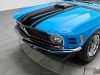Grabber Blue 1970 Ford Mustang 302 Boss