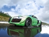Green Audi R8 V10 Tuned by Racing One 001
