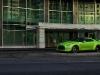 Green Hulk Widebody Nissan GTR on HRE Wheels