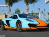 Gulf Blue McLaren MP4-12C at Lamborghini Newport Beach