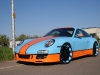 Gulf-themed Porsche 911 on 20 Inch Oxigin Wheels 001