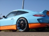Gulf-themed Porsche 911 on 20 Inch Oxigin Wheels 002