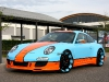 Gulf-themed Porsche 911 on 20 Inch Oxigin Wheels 003