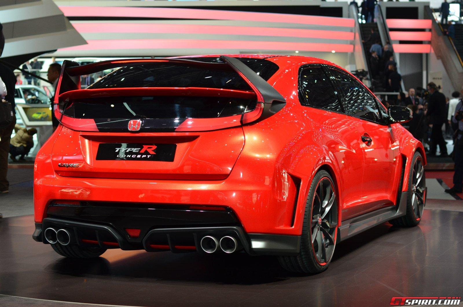 Geneva 2014: Honda Civic Type R Concept - GTspirit