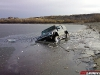 Hummer H2 Falls Through Ice Lake In Washington