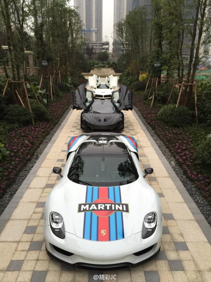 Mclaren Vs Porsche Spyder Vs Ferrari Laferrari Archive