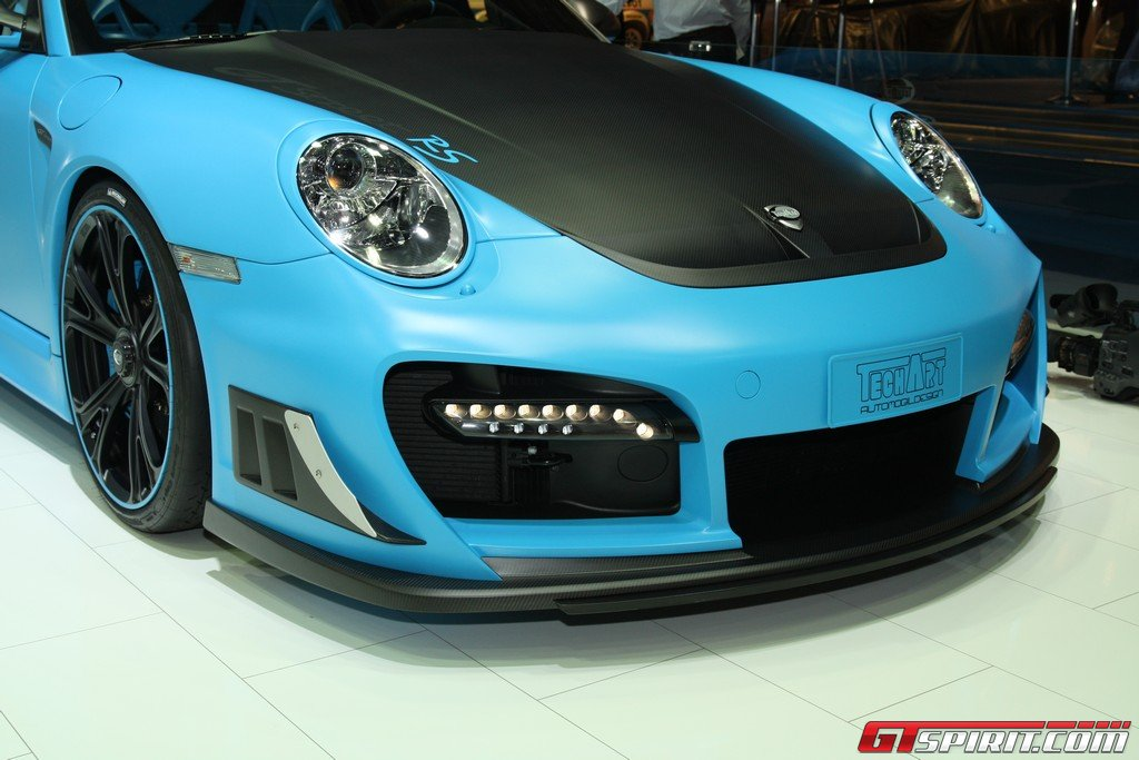 iaa 2011 techart gtstreet rs based on porsche 911 gt2 rs. Black Bedroom Furniture Sets. Home Design Ideas
