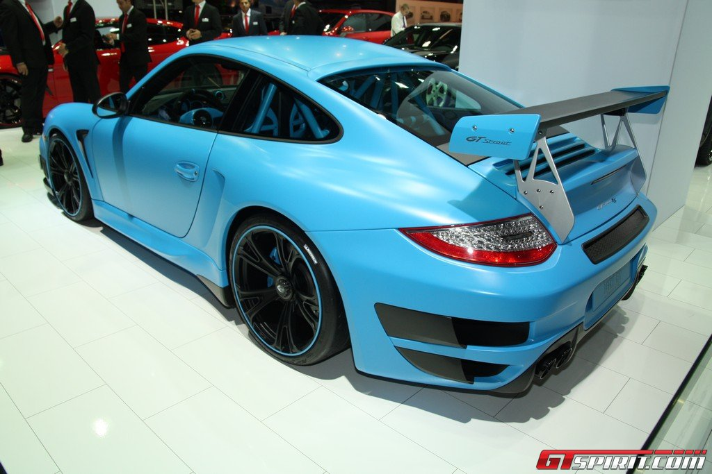 IAA 2011 TechArt GTStreet RS Based on Porsche 911 GT2 RS