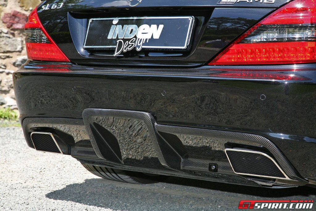Inden-Design Mercedes SL 63 AMG Black Saphir