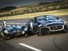 Jaguar F-Type Concept 7 presentation at the Nurburgring