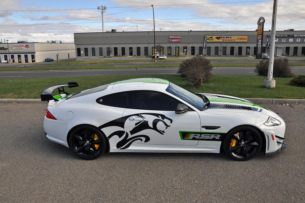 Jaguar XKR-S GT in RSR Trim by ZR Auto - GTspirit