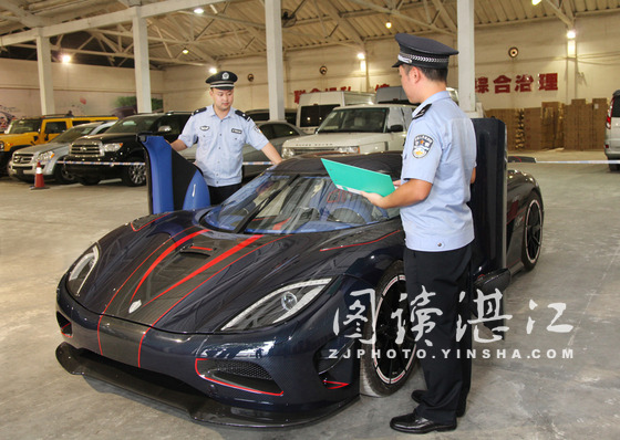 Koenigsegg Agera R BLT Seized by Chinese Customs Photo 1