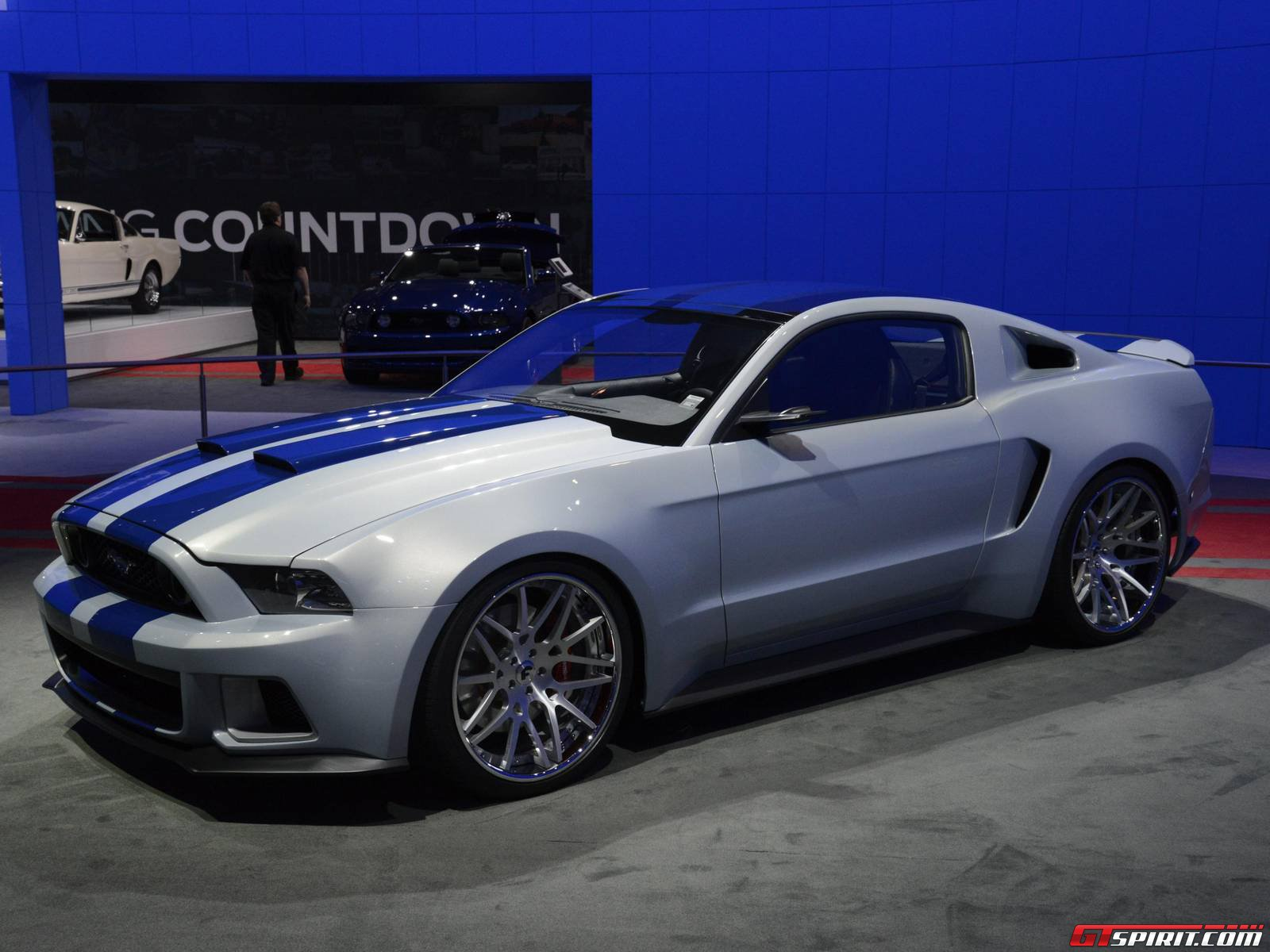 need for speed ford mustang auctions for 300 000 at barrett jackson. Black Bedroom Furniture Sets. Home Design Ideas