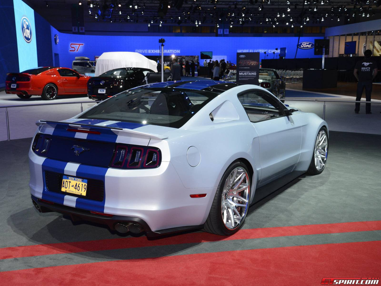 los angeles 2013 need for speed ford mustang. Black Bedroom Furniture Sets. Home Design Ideas