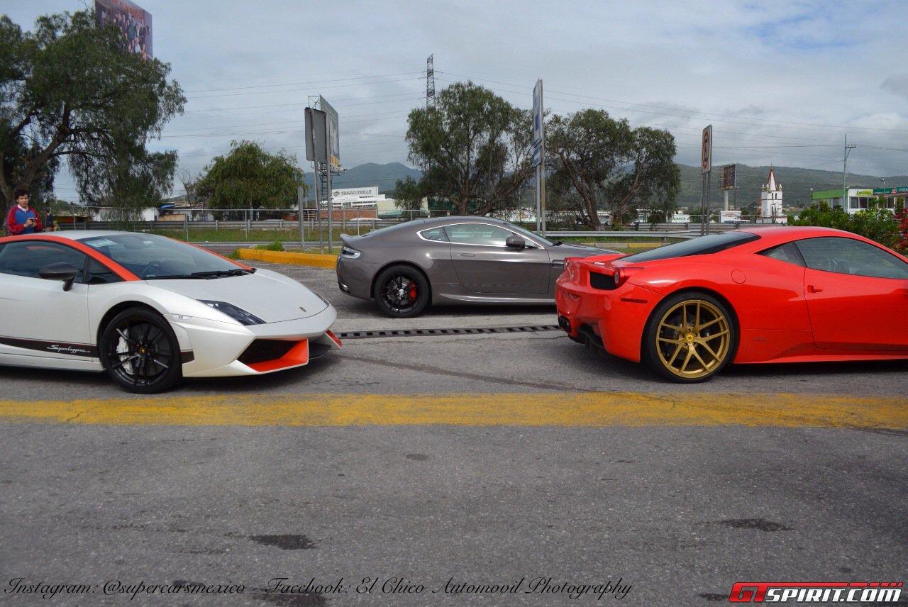 Фото   Lamborghini, Aston Martin и Ferrari