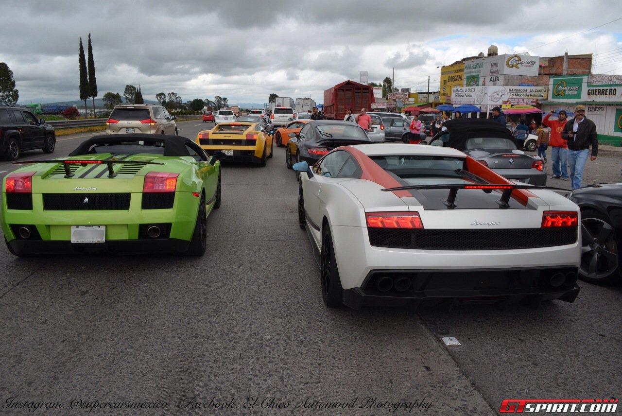 Фото   Родстер и купе Lamborghini Gallardo