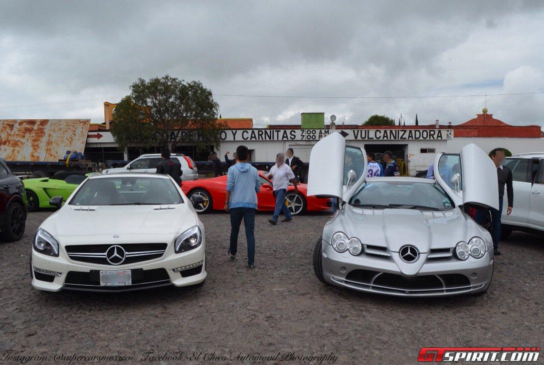 Фото   Mercedes-Benz CLS и SLR. 2014 год