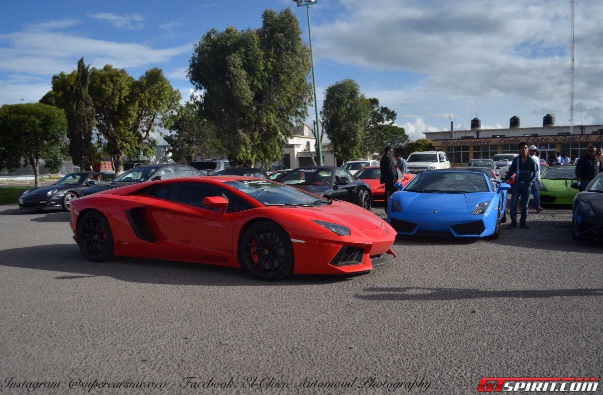 Фото   Lamborghini Aventador и Gallardo