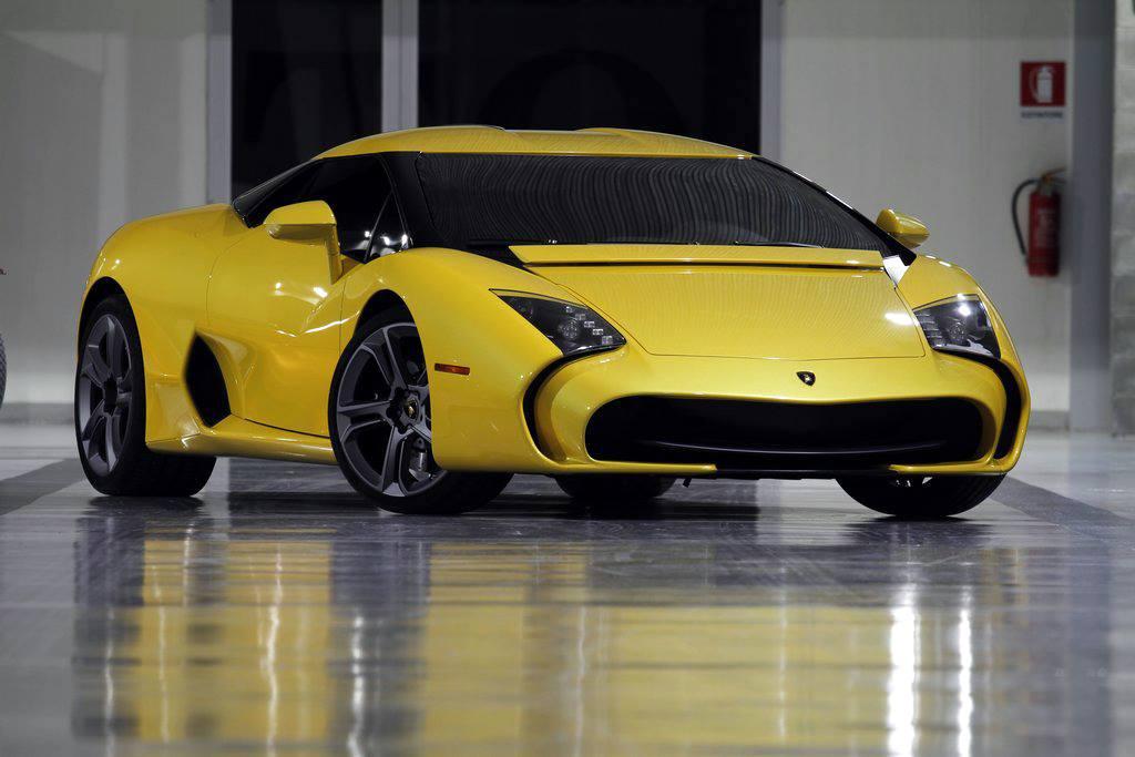 Фото суперкара Lamborghini 5-95 Zagato