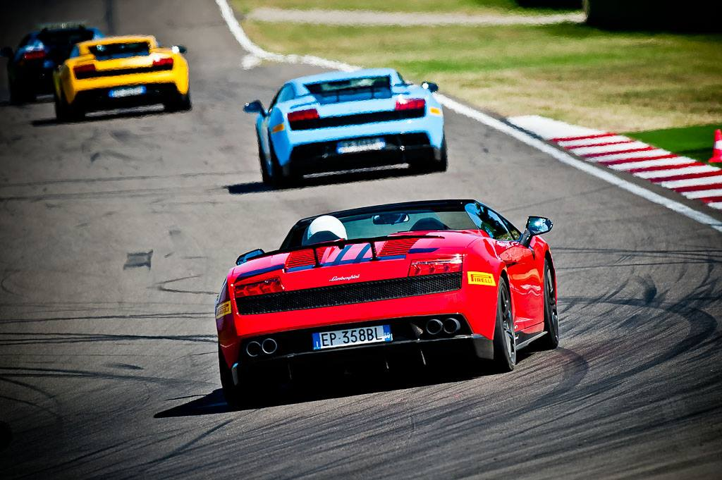 Курсы экстремального вождения Lamborghini Gallardo