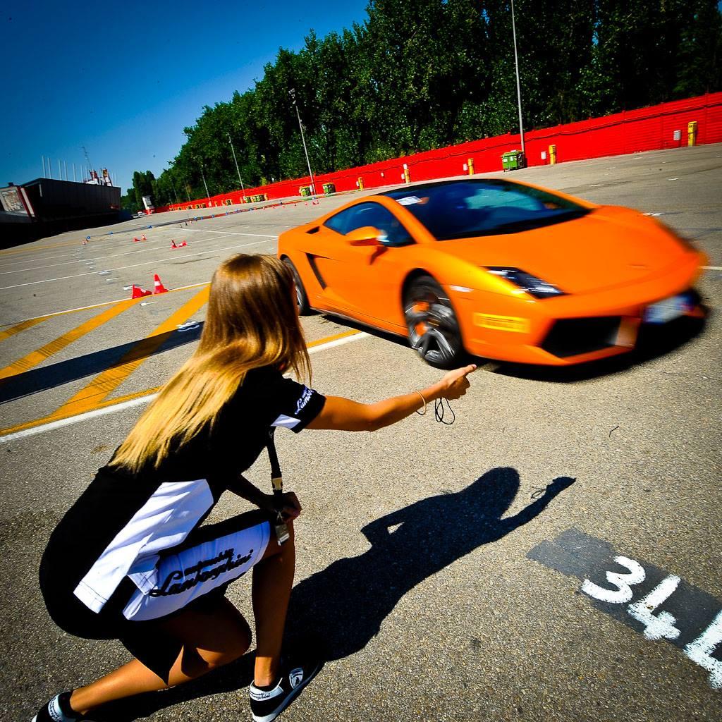 Обучение скоростному вождению Lamborghini