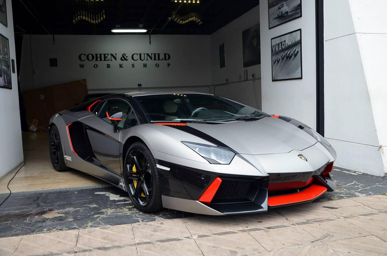 Unique Lamborghini Aventador Wrap By Cohen Amp Cunild
