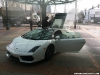 Lamborghini Gallardo LP560-4 on Fire at Portland Auto Show