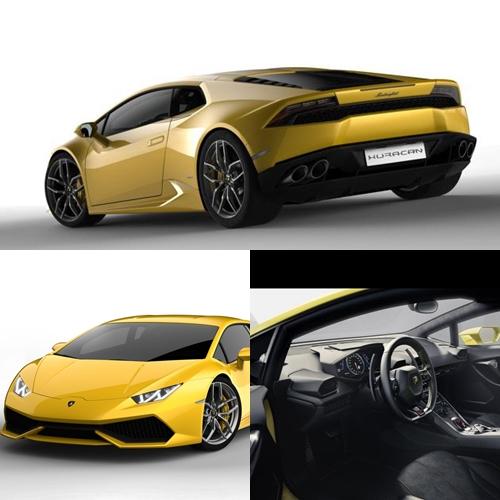 Hear The Lamborghini Huracan LP610-4 Roar!