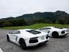 Bianco Isis Lamborghini LP700-4 Aventador