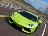 Green Lamborghini LP700-4 Aventador