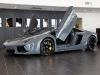 Solid Gray Lamborghini LP700-4 Aventador