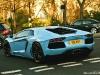 Sky Blue Lamborghini LP700-4 Aventador