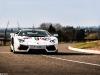 White Italian Stripes Lamborghini LP700-4 Aventador