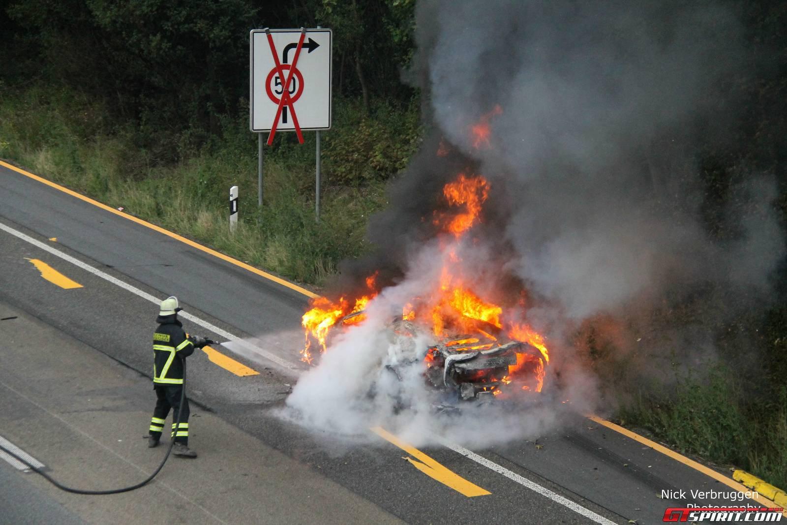 Lamborghini Murcielago Reduced To Ashes In Less Than 15 Minutes